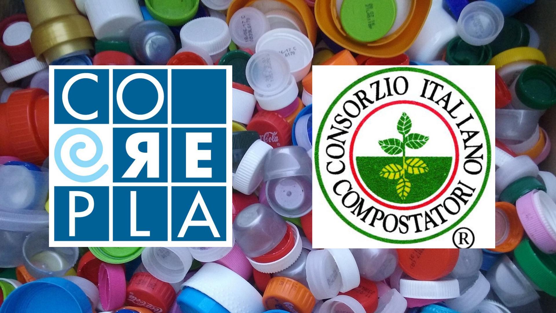 Rifiuti organici e plastici: Corepla e Cic uniti per migliorare la qualità della raccolta differenziata