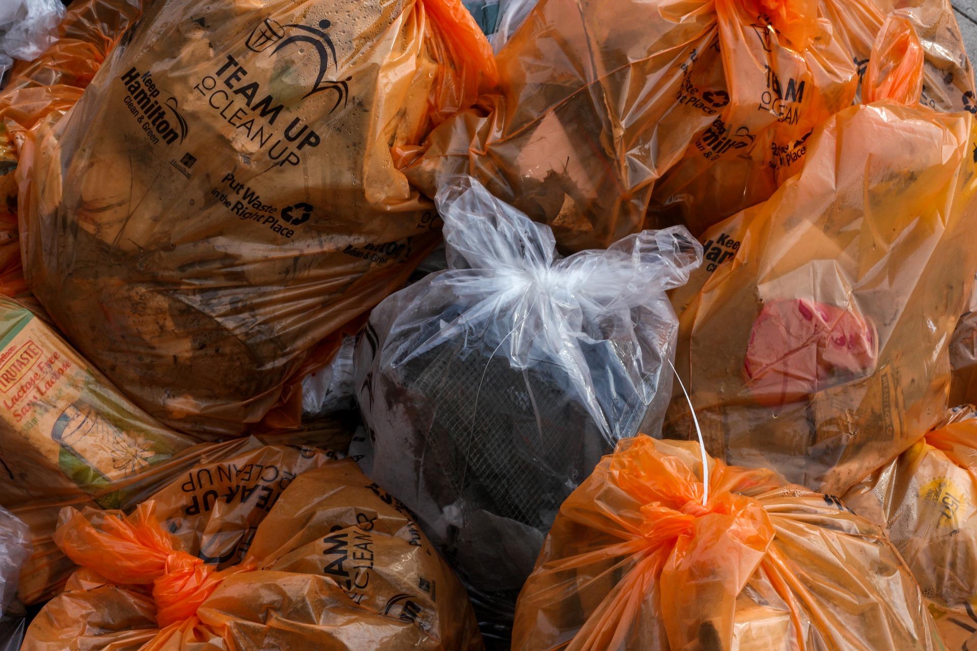 i sacchetti biodegradabili non si degradano